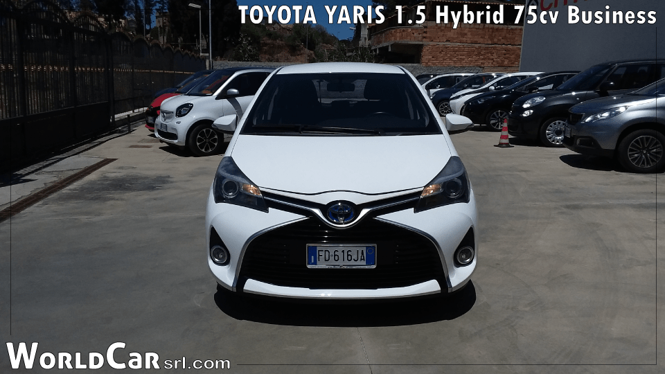 TOYOTA YARIS 1.5 Hybrid 75cv Business