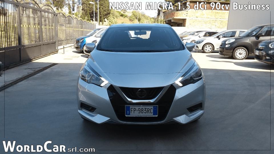 NISSAN MICRA 1.5 dCi 90cv Business