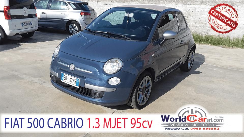 FIAT 500 CABRIO 1.3 MULTJET 95CV