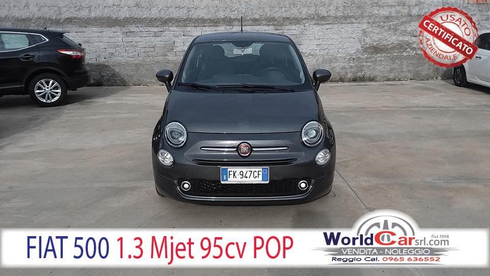 FIAT 500 1.3 MJET 95CV POP