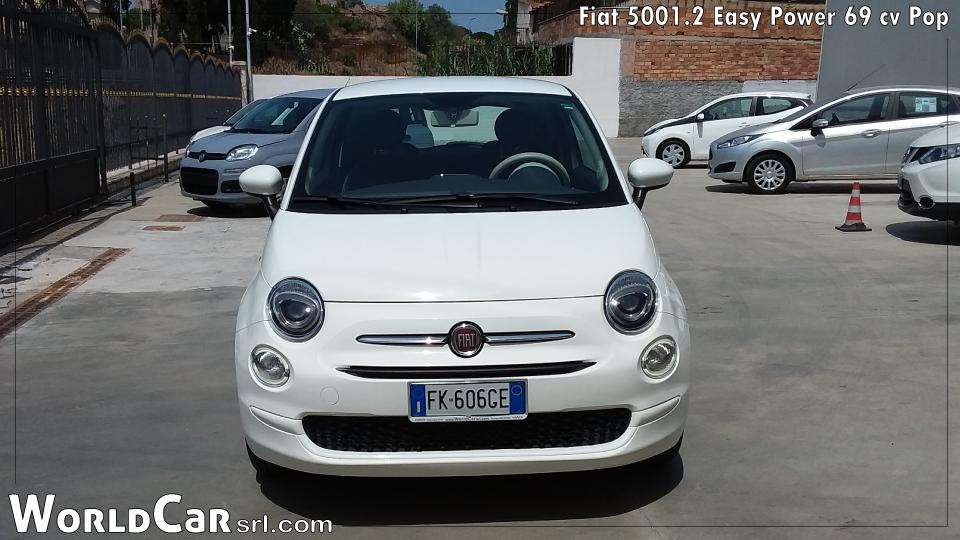 FIAT 500 1.2 EASY POWER 59 CV