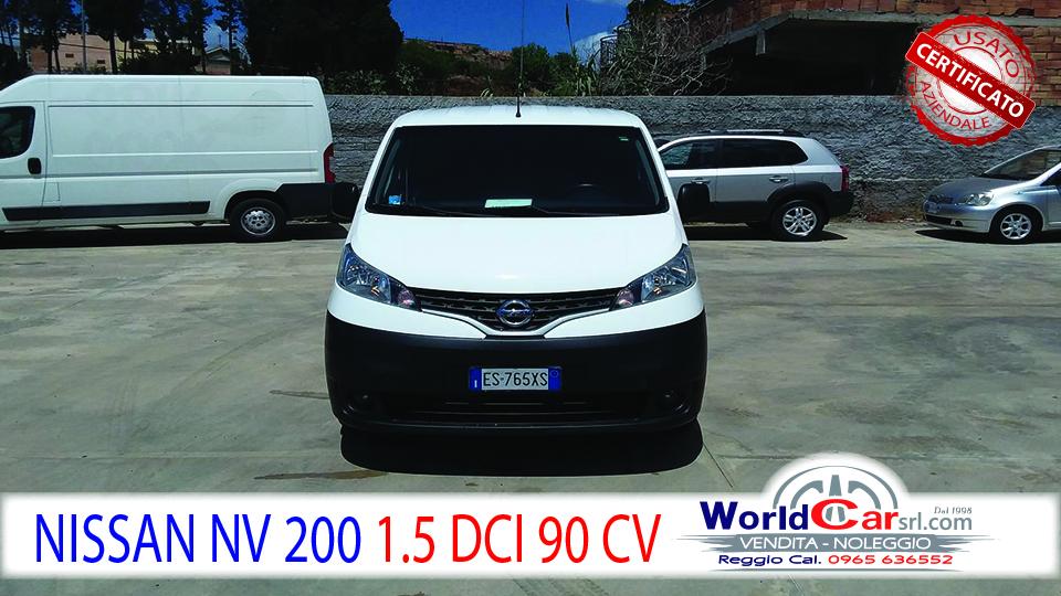 NISSAN NV200 1.5 DCI COMBI
