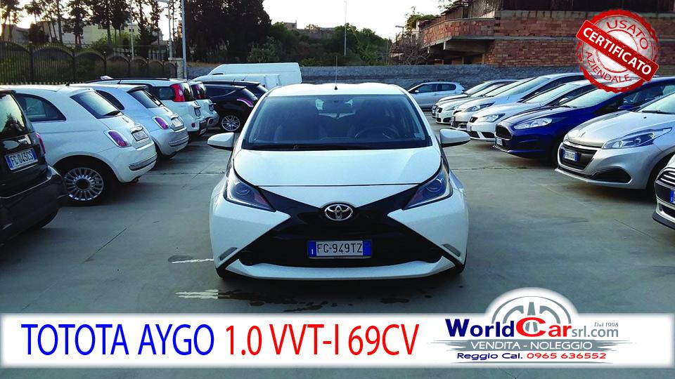 TOYOTA AYGO 1.0 VVT-I 69CV