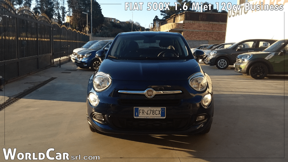 FIAT 500X 1.6 Mjet 120cv Business