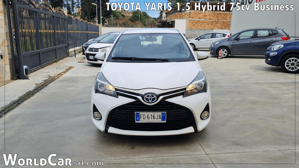 TOYOTA YARIS1.5Hybrid75cv Business