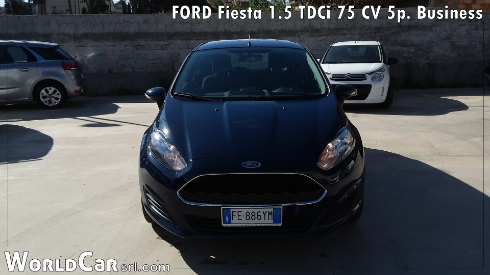 FORD Fiesta 1.5 TDCi 75 CV 5p. Business