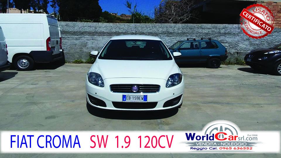 FIAT CROMA SW 1.9 MULTIJET 120CV