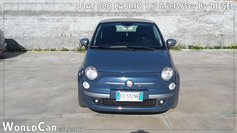 FIAT 500 CABRIO 1.3 Mjet 95cv By DIESEL
